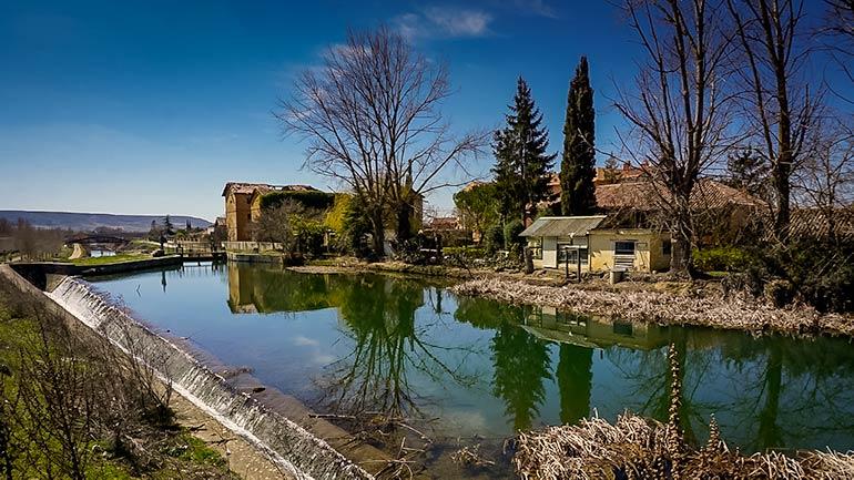 Castilla Canal, Palencia Spain