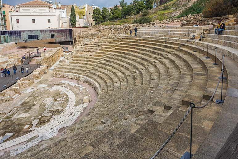 Malaga Roman Theatre Spain