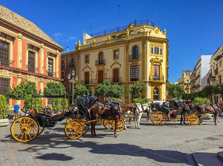 Seville Square, Spain