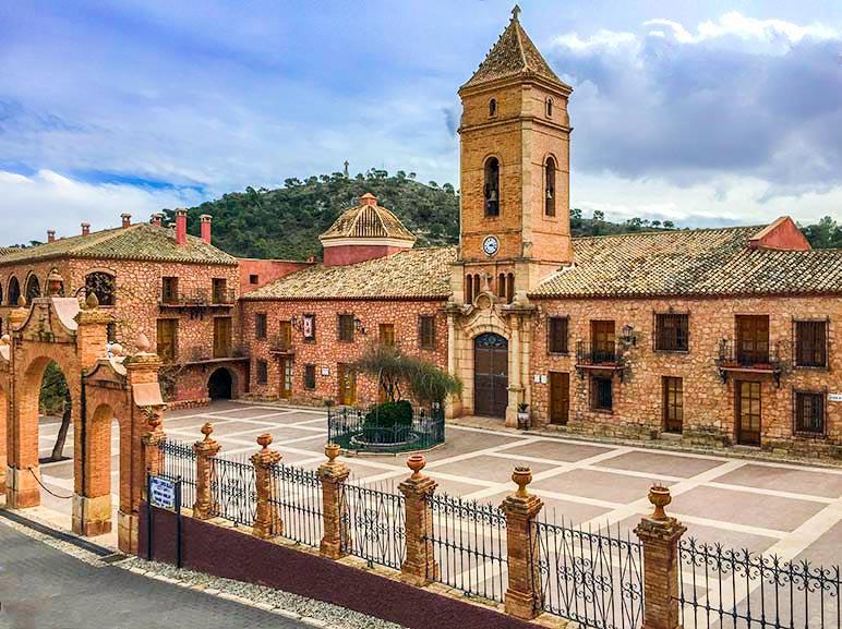 Sanctuary of Eulalia de Merida, Sierra Espuna, Spain
