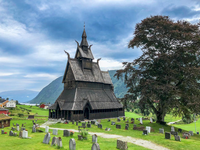hoppersta stave church