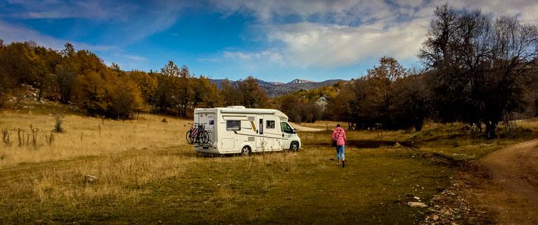 Campervan-at-Vicos-Gorge