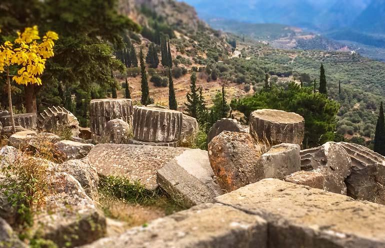 Delphi Ruins Greece