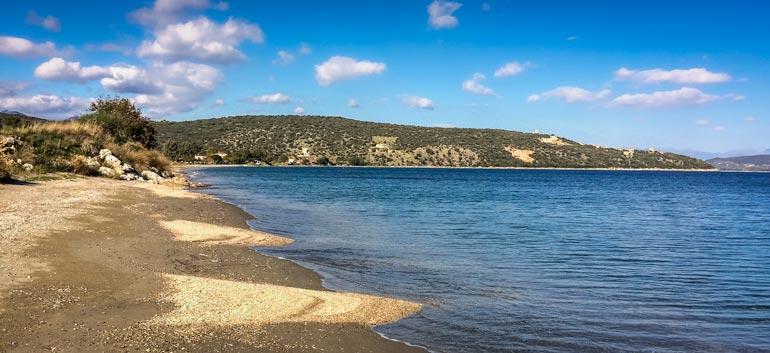 Kamares beach Peloponnese