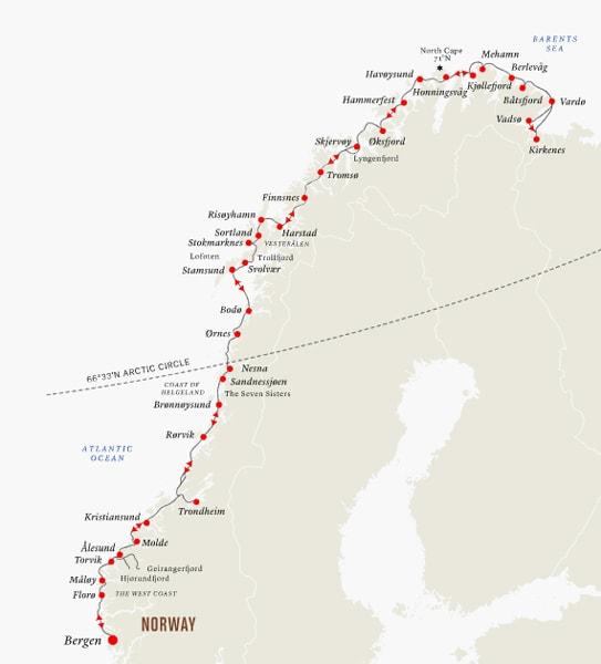 Norway coastal route - Torghattan