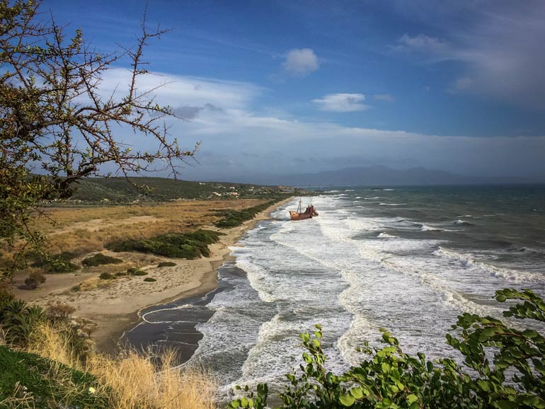 Dimitrios Shipwreck in Greece