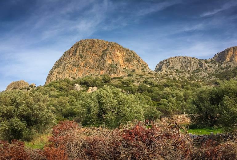 mountainin greece