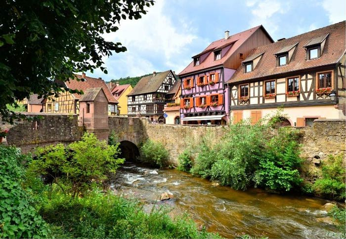 kayserberg on the Alsace wine route