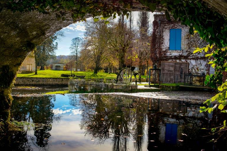 the Dordogne Village of BrantomeBrantome