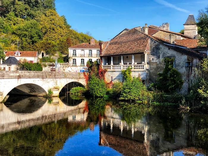 Brantome-bridge Dordogne
