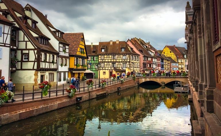 Colmar River, Alsace