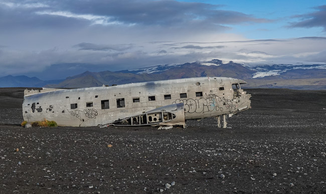 DC3 Plane Wreck_Iceland in September