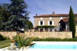 Elianes-Gite,-Villars with pool
