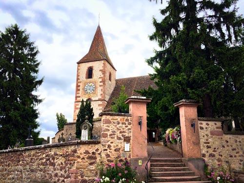 Hannawihr church