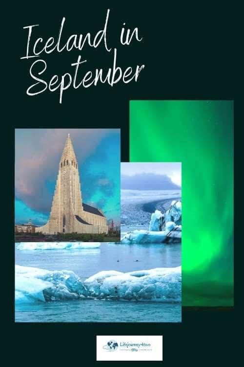Iceland in September pinterest pin