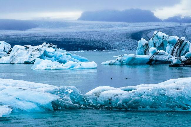 Jokusralon glacier lagoon_Iceland in September