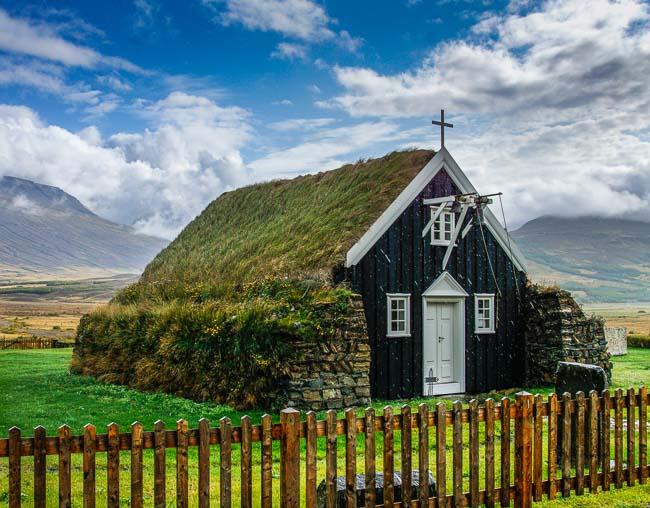 Saubaejarkirkja_Iceland in September