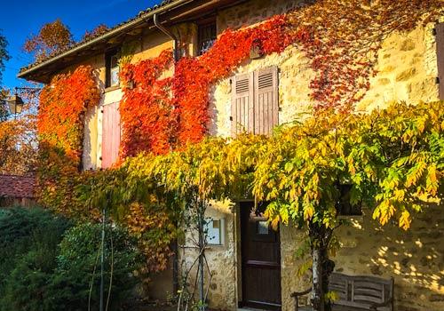 St Jean de Cole autumn colours