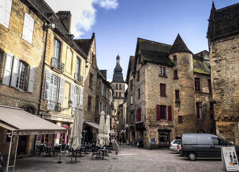 sarlat-la-caneda Dordogne Village