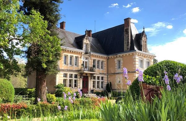 Chateau de villars in the Dordogne