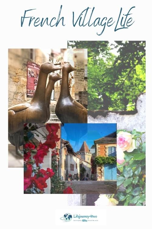 French Village Life pinterest pin