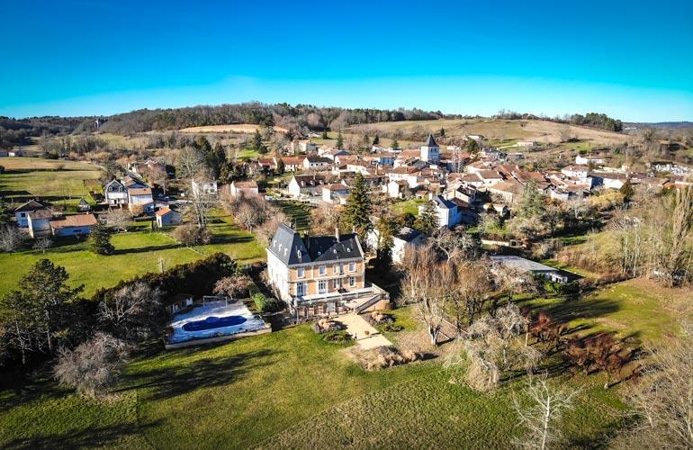 French Village Life in Dordogne