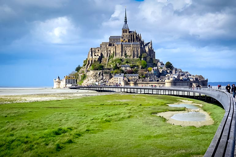 Mont-St-Michel in Normandy