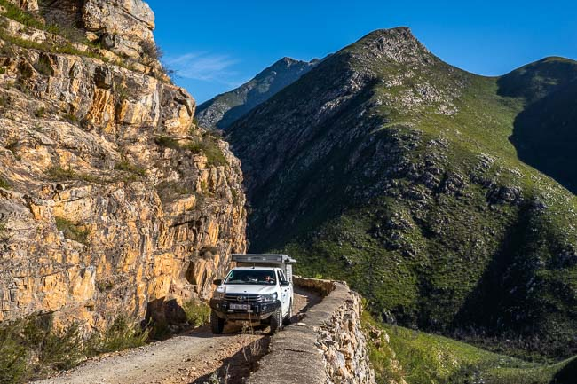 Montagu Pass 1 lane road