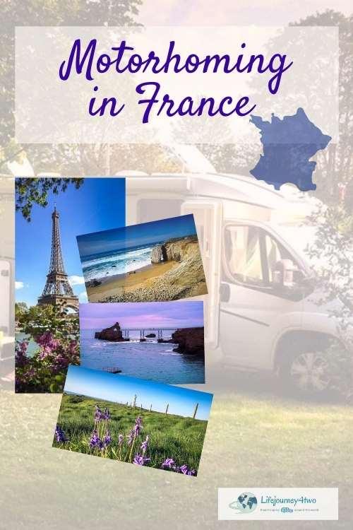Motorhoming France Pinterest Pin