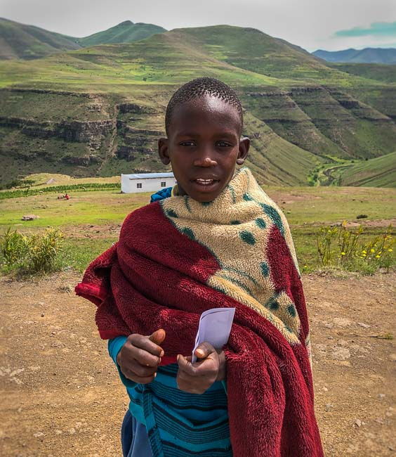 Lesotho teenager