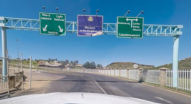 border gate a Caledenspoort