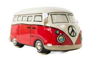 Ceramic Camper moneybox