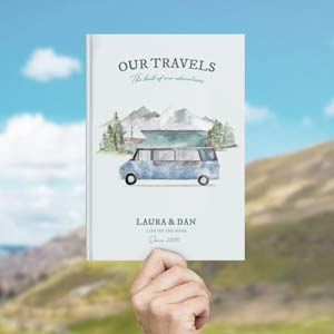 Gifts for camper owners -Travel journal