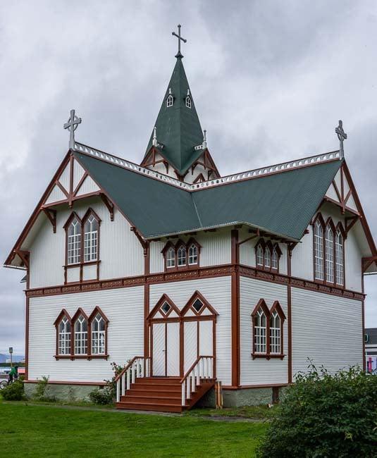 Husavik church, Iceland