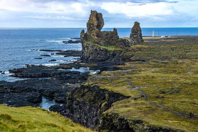 Londranger rock pinnacles, Iceland