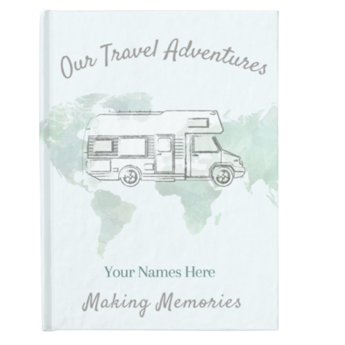 Travel gifts for camper owners Front cover