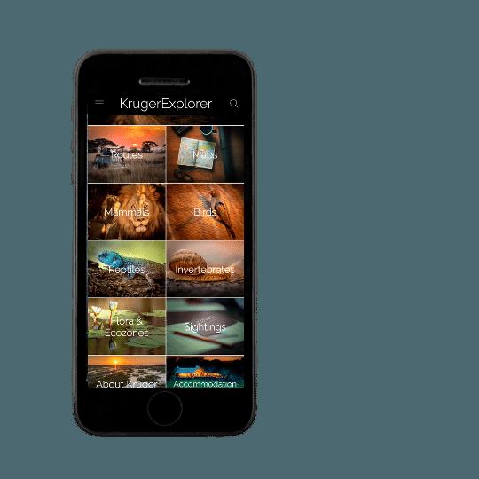 Kruger Explorer app photo