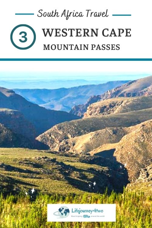 3 western cape mountain passes pinterest pin