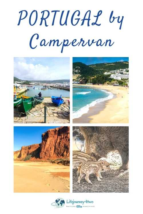 Pinterest pin for campervanning in Portugal
