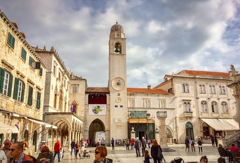 Clock-tower-Dubrovnik