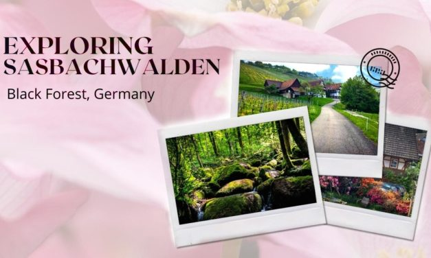Sasbachwalden Germany: Schnapps Fountains, Forests & Flowers