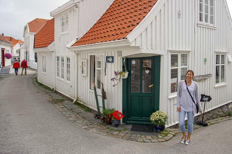 Skudeneshavn's World's Smallest Cafe