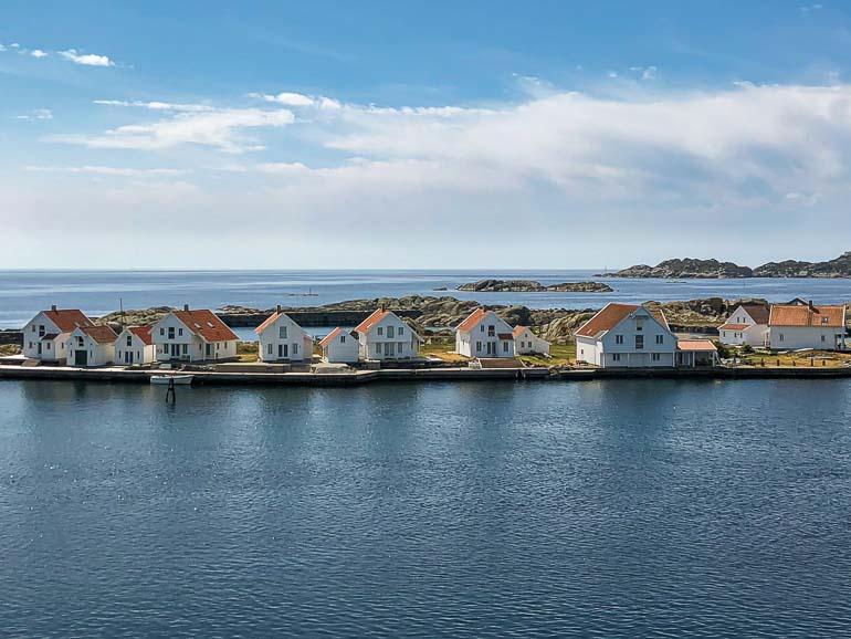 Skudeneshavn's white houses