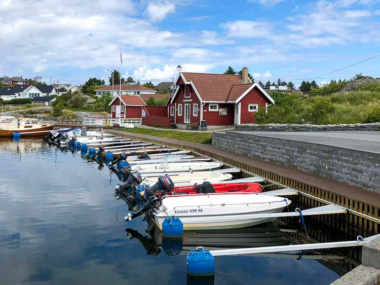 Syre harbour, Karmoy