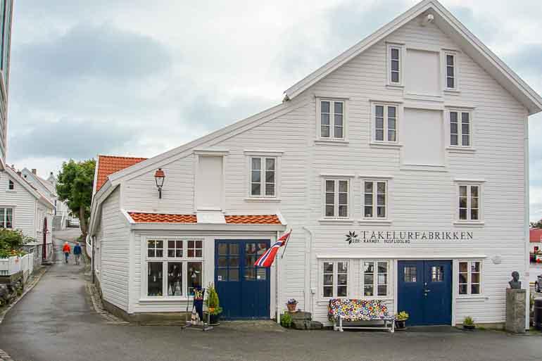 Takelurfabrikken, Skudeneshavn, Karmoy